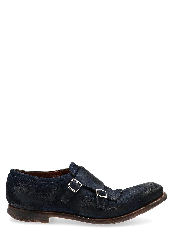 Church's Luxury Fashion Herren EOG0099PXF0AHD Blau Monk