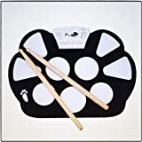 Best Electronic Drum Set For Kids: Real Drum Sounds Using 9 Pads | Comes With Sticks & Foot Pedals | Perfect For Early Beginners | Plug & Play Using Headphones or External Speaker | Guaranteed Fun