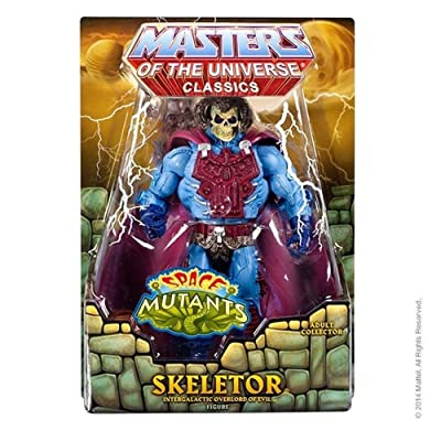 Masters of the Universe Space Mutants Intergalactic Skeletor Figure: Toys & Games [5Bkhe0500485]