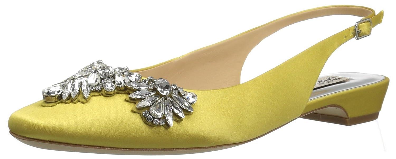 Badgley Mischka Women's Shayla Ballet Flat B072R55ZHT 9.5 B(M) US|Lemon
