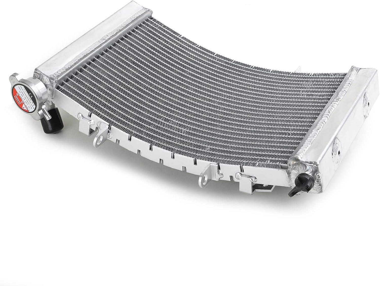 Smadmoto Radiateur de Refroidissement en Aluminium pour Triumph Street Triple 675 Street Triple 675R 08-12
