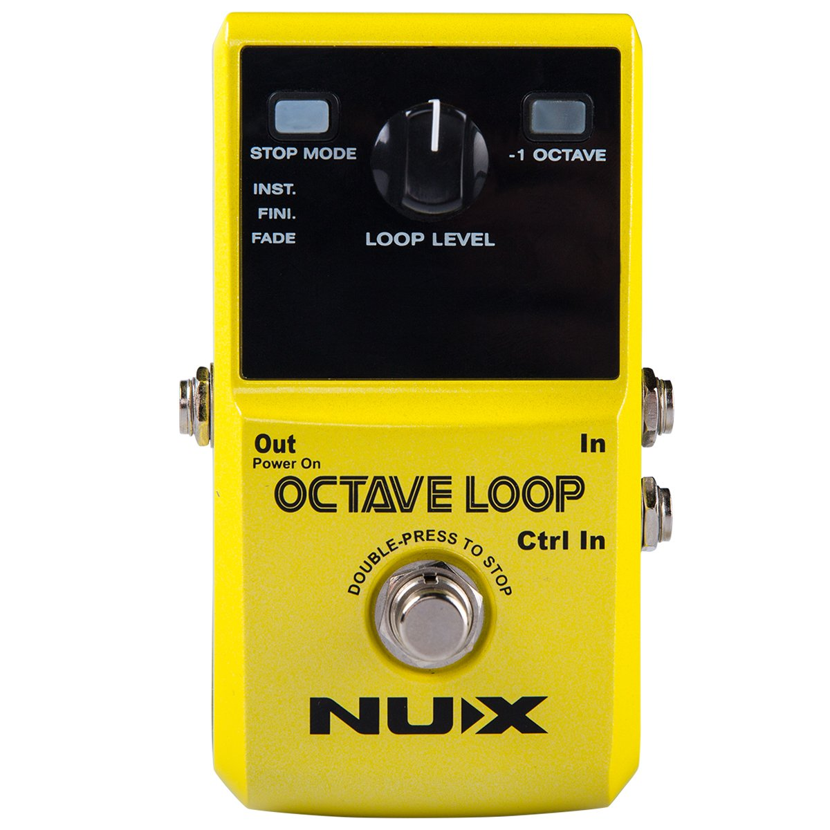 NUX Octave Loop Guitar pedal Loop Station with Octave Effect 5 minutes Looping Time