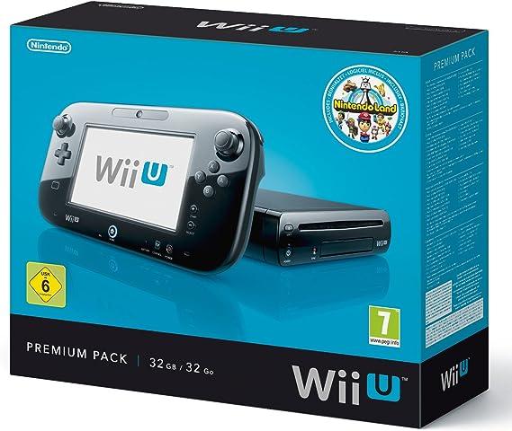 Nintendo Wii U - Pack Premium - 32 GB - Incluye Nintendo Land [Importación alemana]: Amazon.es: Videojuegos