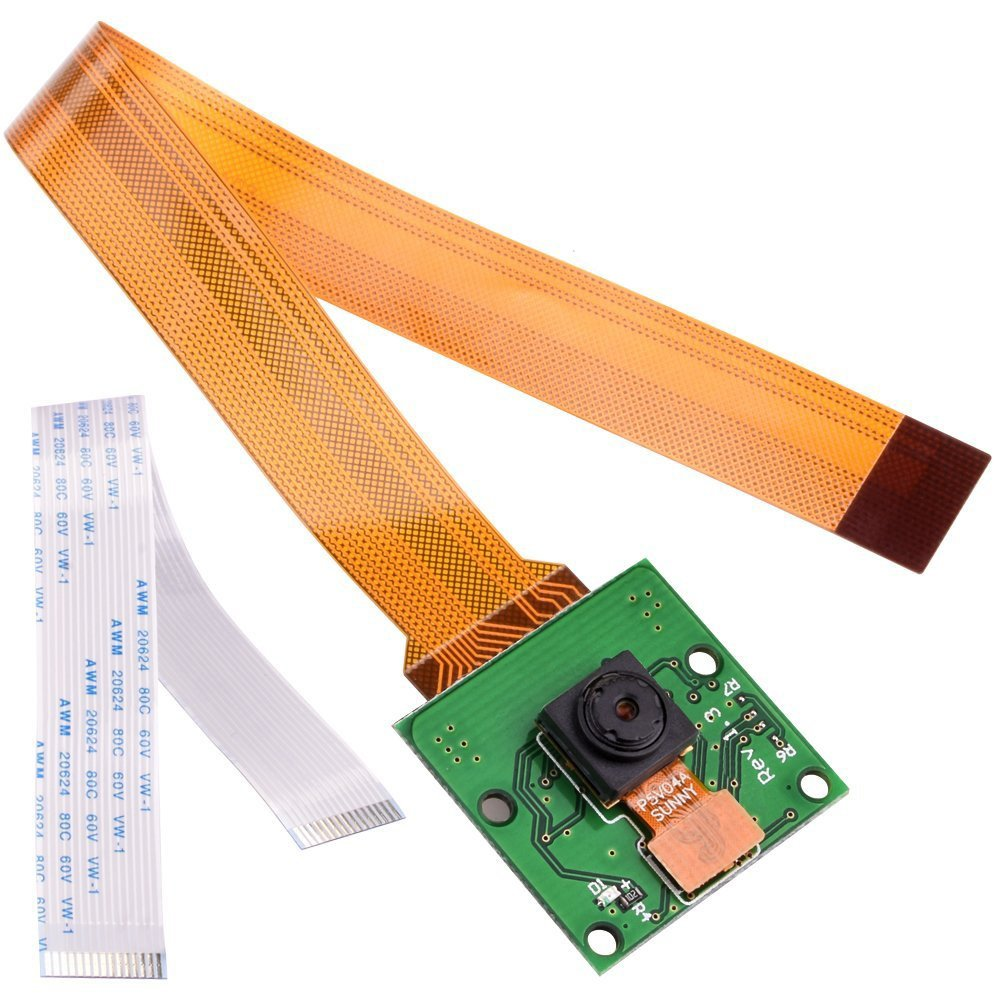 Camera Video Module 5MP Webcam 1080p 720p for Raspberry Pi 3 Model B Pi 2 and Pi Zero by InsReve