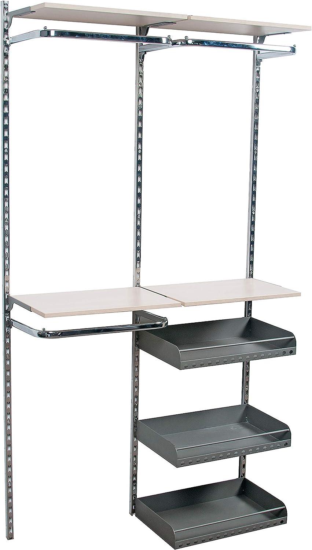 Sommer International GmbH R/ückwandsystem P2 Set 45 50 cm tief 66 cm breit