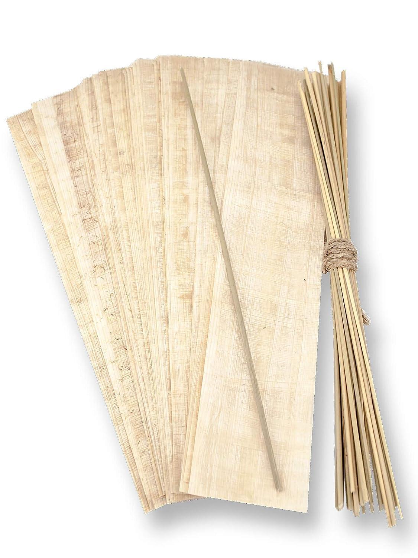 Naturpapyrus Papyrus Blatt 20x30cm geschnitten