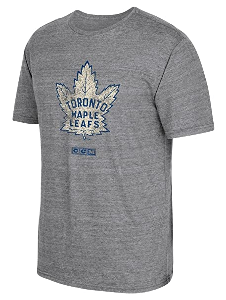 Image Unavailable. Image not available for. Color  adidas Toronto Maple  Leafs CCM Heritage Alternate Distressed Premium Tri-Blend T-Shirt b5f0b06e2