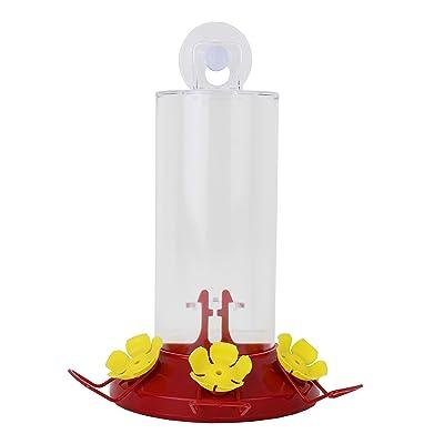 Perky-Pet Window Mount Hummingbird Feeder Iridescent Color