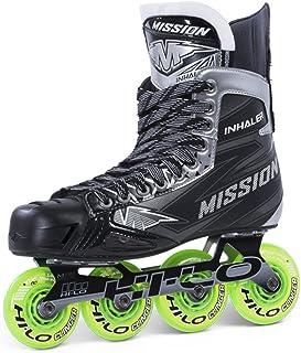 Bauer Mission Junior Droite inhalateur NLS 04Hockey Skate, Noir, E 3.5