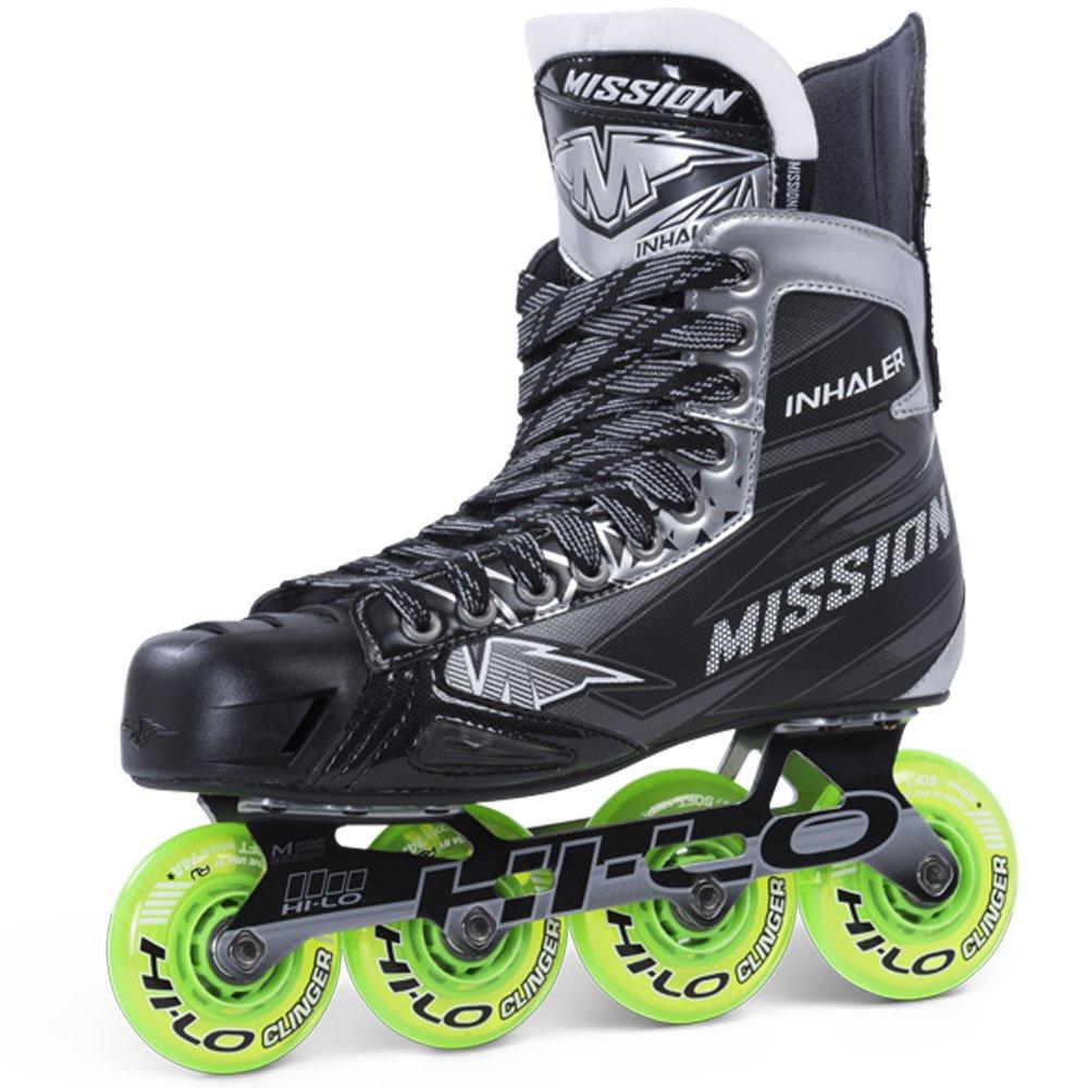 Bauer misió n Junior RH inhalador NLS 04 Hockey Skate, negro, E 3,5 Bauer Performance Sports 1049928