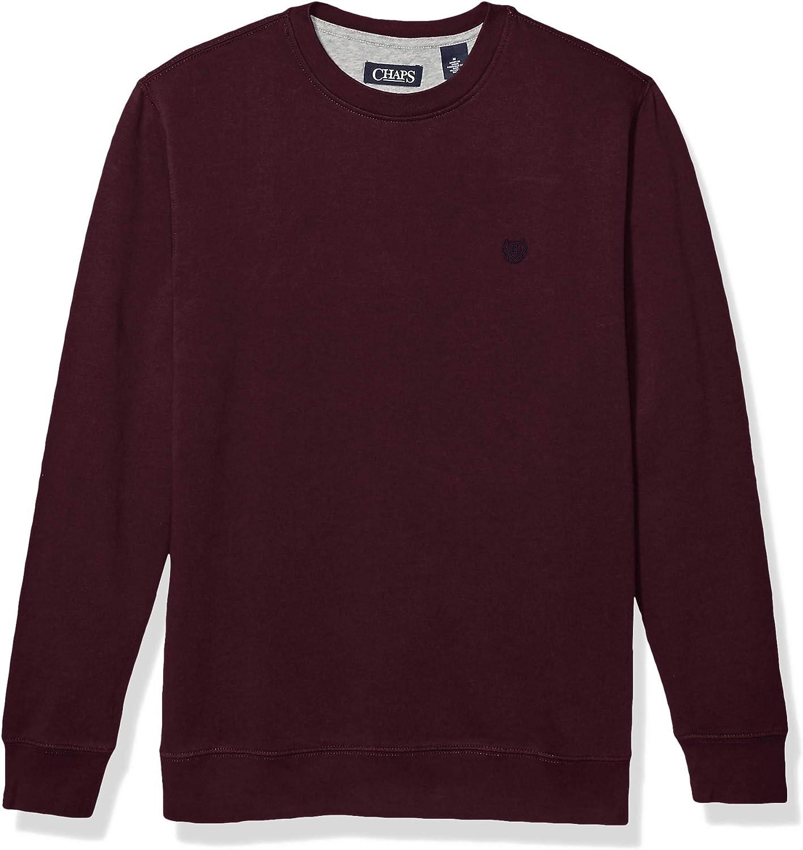 CHAPS Mens Crewneck Fleece Sweatshirt Sweatshirt