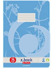 Herlitz 3352507 Hefte A4/16 UWS Lineatur 25 (liniert mit Rand) 10er Packung Motive sortiert