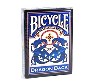 Baraja 54 Cartas Dragón de BICYCLE con el dorso Azul: Amazon ...