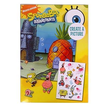 Amazon.com: Sol Decoraciones Nickelodeon Esponja Bob Esponja ...