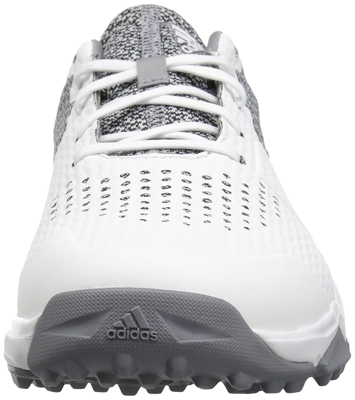 newest b8179 8eacf Adidas Golf Adipower S Boost 3 Zapatillas de golf para hombre Blanco   Plateado Metálico  Luz Onix