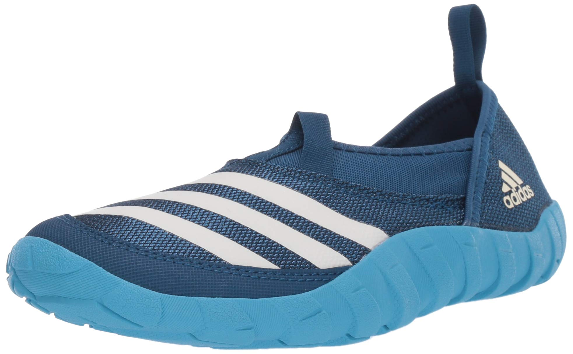 adidas outdoor Jawpaw Kids Water Sports Shoe Walking, Legend Marine/Chalk White/Shock Cyan, 6 Child US Big