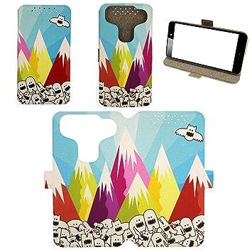 Flip Pu Leather Carcasa Cover para Funda Leeco Le S3 Funda ...