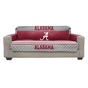 Reversible Couch Cover   College Team Sofa Slipcover Set / Furniture  Protector   NCAA Officially Licensed