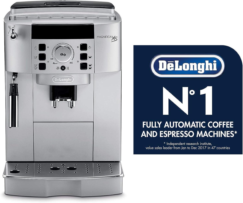DeLonghi DeLonghi ECAM22110SB Compact Automatic Cappuccino, Latte and Espresso Machine Tapones para los oídos 6 Centimeters Negro (Black): Amazon.es: Ropa y accesorios