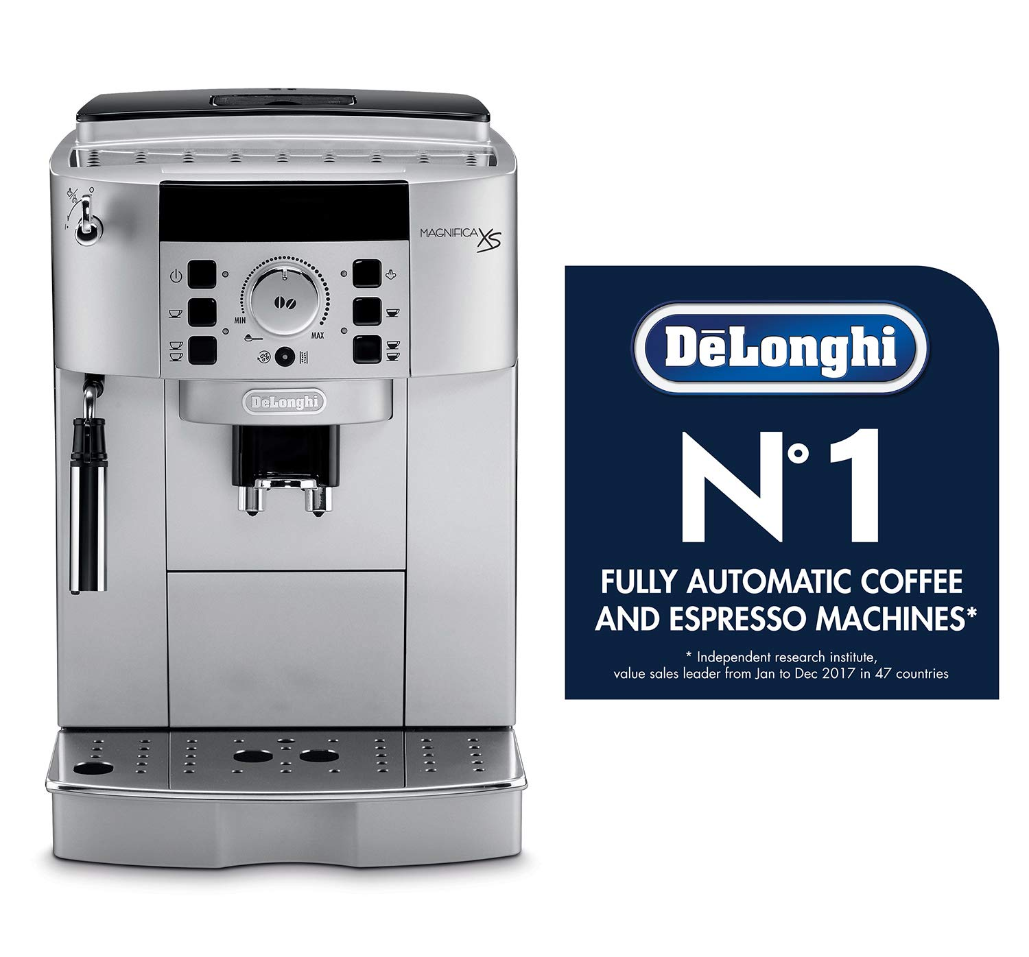 Latte and Espresso Machine 2 DeLonghi ECAM22110SB Compact Automatic Cappuccino