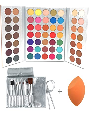 Eye Shadow Glitter 20 Colors Eyeshadow Palette Eyeliner Pigment Mascara Makeup Kit For Daily Eye Palette Maquillage Yeux Beauty Glazed #68