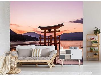 Papel Pintado para Pared Puerta Torri al Amanecer en Japón ...