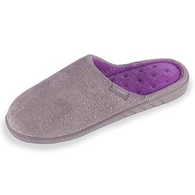 Zapatillas Chinelas Lisas para Mujer Isotoner 42: Amazon.es: Zapatos y complementos
