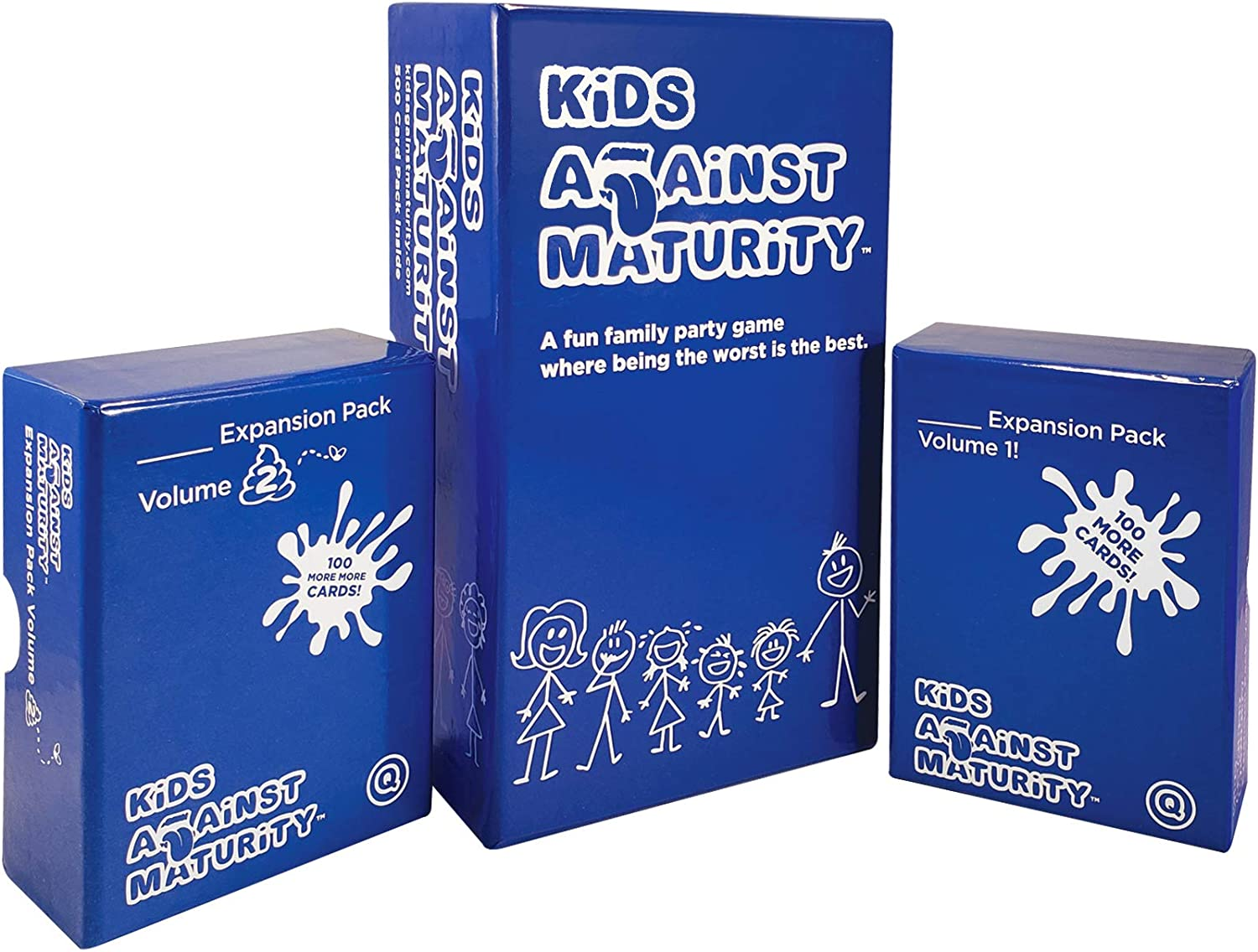 Super Fun Family Game Card Game for Kids and Humanity Kids Against Maturity