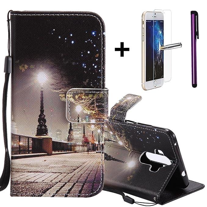 """1 opinioni per Custodia a portafoglio, per Huawei Mate 9 da 5,9"""", con pellicola salvaschermo e"""