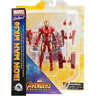 Figures Marvel Select Avengers Infinity War Iron Man MK50 - Special Collector Edition Action: Toys & Games