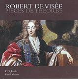 Robert De Visee Pièces De Theorbe