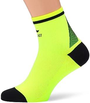 Sportlast Start Calcetines Cortos de Comprensión, Amarillo/Negro, L: Amazon.es: Deportes y aire libre