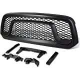 For Ram 1500 ABS Plastic OE-Style Rebel Front Grille (Black) - DS DJ D2