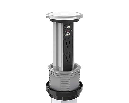 Sensational Automatic Led Motorized Pop Up Power Point Outlet Socket Inzonedesignstudio Interior Chair Design Inzonedesignstudiocom