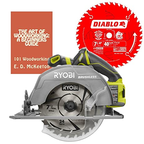Ryobi p508 18 volt one 7 14 in brushless circular saw bundle with ryobi p508 18 volt one 7 14 in brushless circular saw keyboard keysfo Image collections