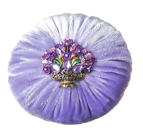 Nakpunar - Cojín de terciopelo para costura, 10,16 cm, color ...