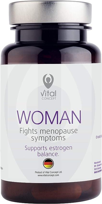 Amazon.com: Mujer – eficaz la Menopausia la ayuda Pastillas ...