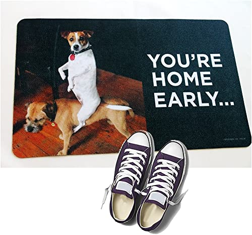 HIGH COTTON Welcome Doormat – You re Home Early