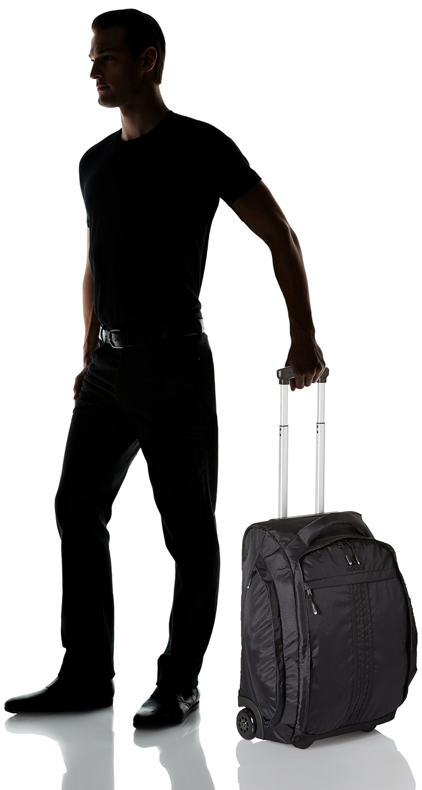 adidas Duel 21-Inch Wheel Bag, Black, One Size by adidas (Image #3)