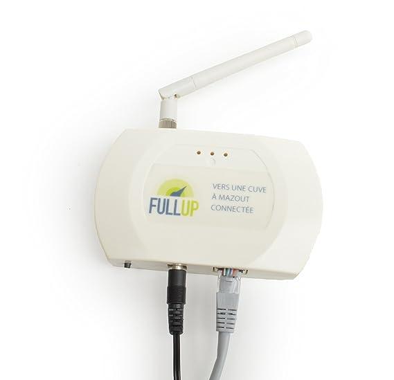 Fullup - Medidor por ultrasonidos para depósito de agua/gasoil (con aplicación móvil de gestión): Amazon.es: Bricolaje y herramientas
