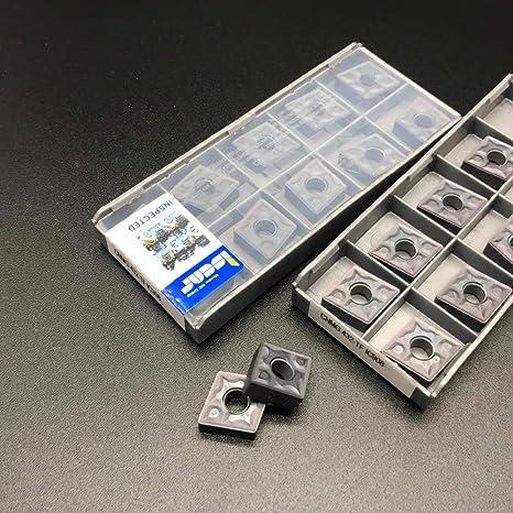 FINCOS 20Pcs New CNC Milling Cutter CNMG 120408-TF IC908/CNMG 432-TF IC908 Milling Tool Lathe Blade Lathe Tool Set - - Amazon.com