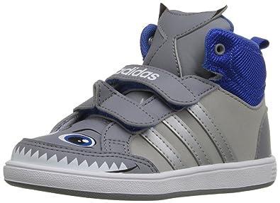 Adidas Neo - Hoops Mid K - Navy