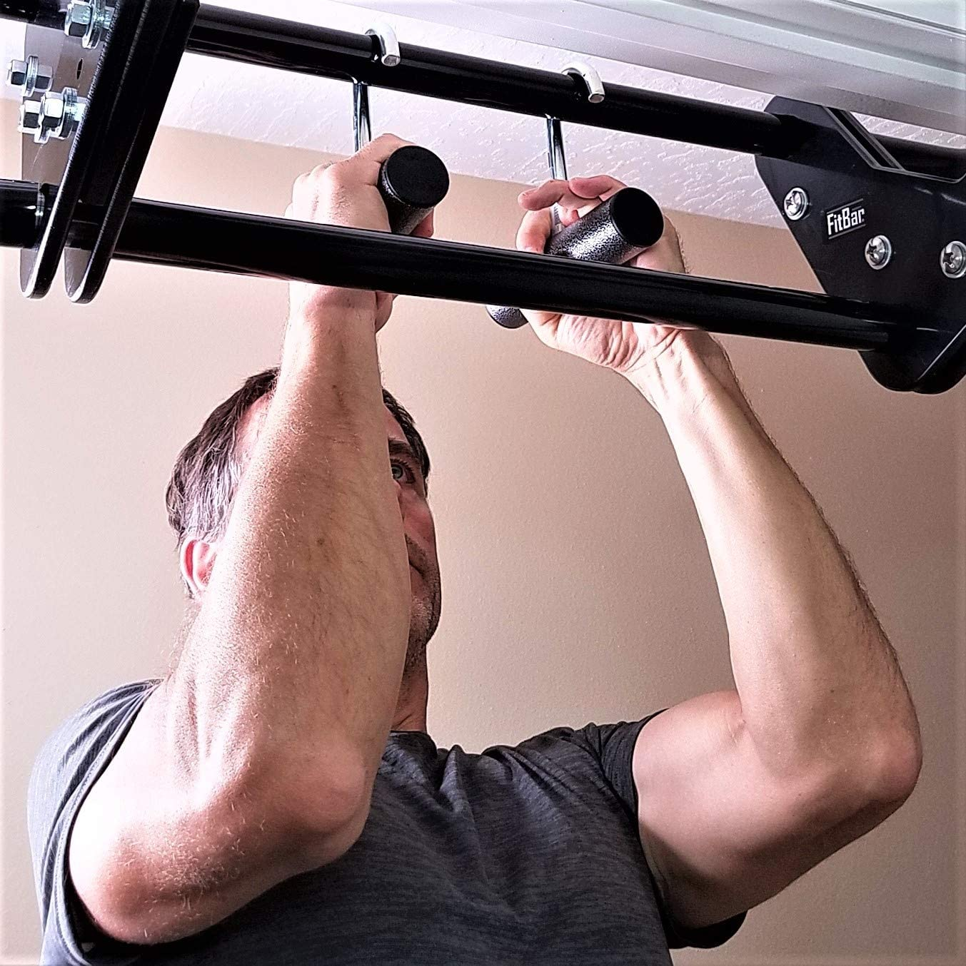 FitBar Neutral Grips Pull Up Grips for Pull Up Bars