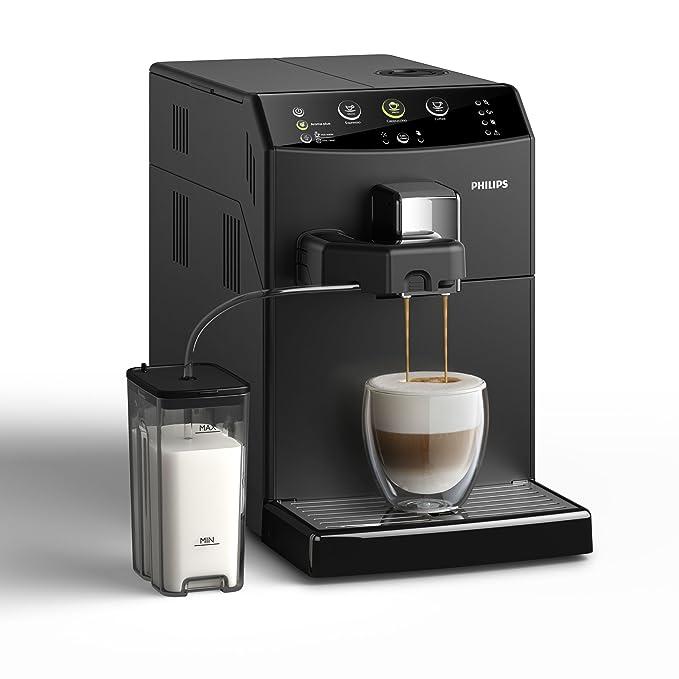 Philips Serie 3000 Cafetera HD8829/01- Máquina de café espresso automática con función para preparar un cappuccino
