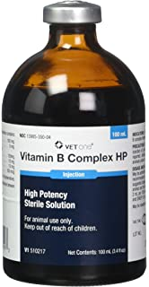 Vitamin B Complex High Potency, For Cattle, Swine, and Sheep 100ml