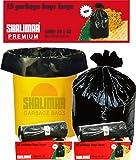Shalimar Premium Garbage Bags (Large) Size 60 cm x 81 cm 6 Rolls (90 Bags) (Trash Bag/ Dustbin Bag)