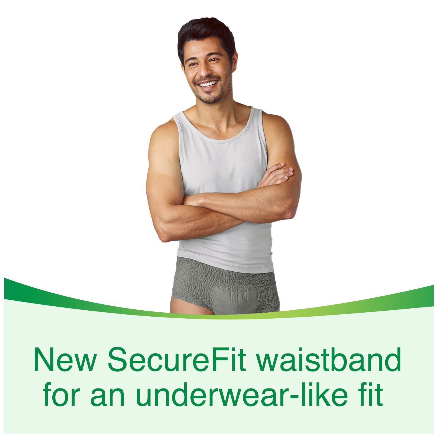 Depend Fit Flex Incontinence Underwear For Men Maximum