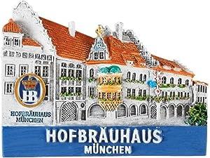 Pinnacle Peak Trading Company Hofbrauhaus Munchen Building Beer Hall Magnet Munich Germany Souvenir
