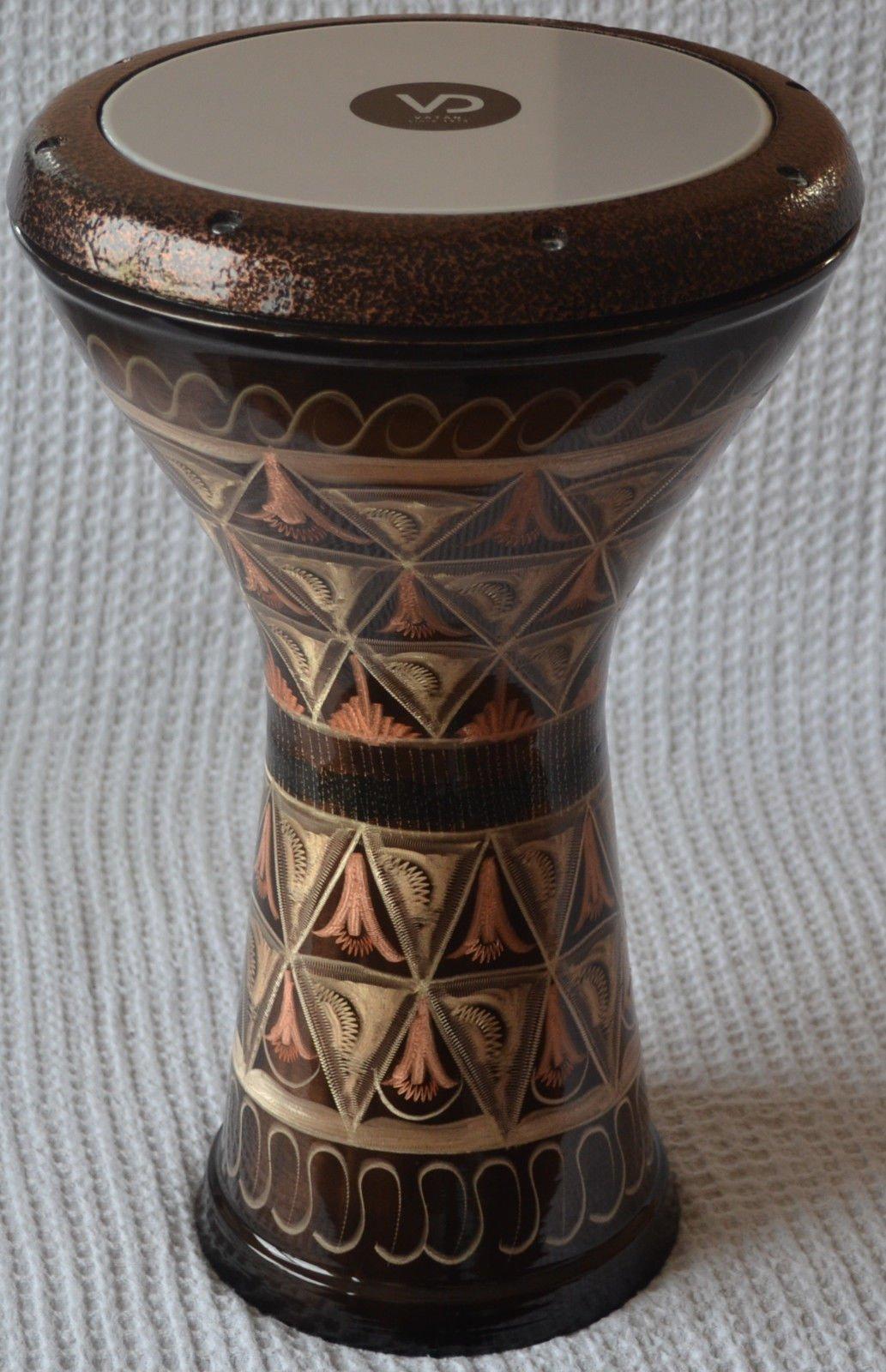 Egyptian Copper Darbuka Drum Doumbek Tombak