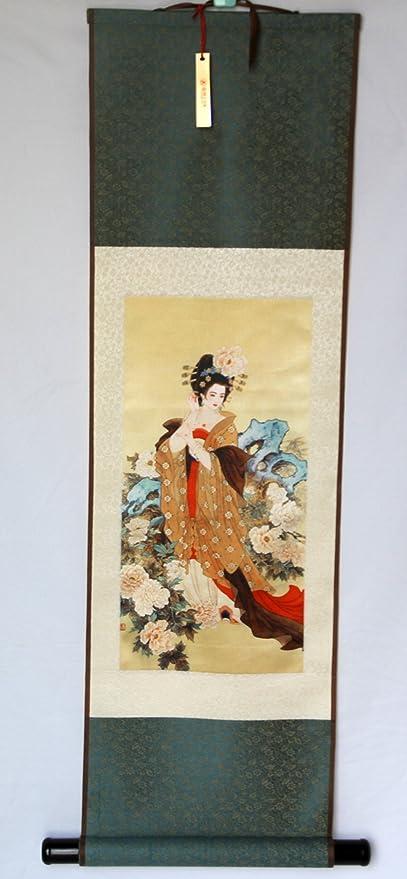 "joy-shangku seda Scroll pintura/para decorar (H39 ""),"""